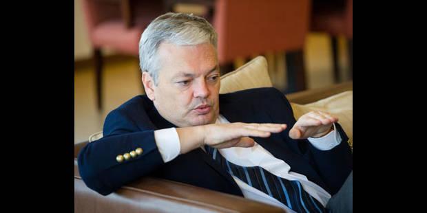 "Reynders : ""Il faut un axe fort MR-PS"" - La DH"