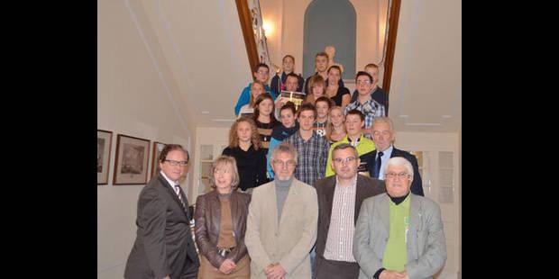 Les jeunes sportifs luxembourgeois � l'honneur