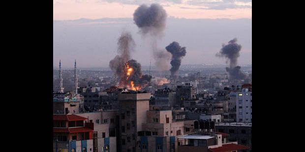 Violents bombardements sur la ville de Gaza - La DH