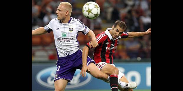 Anderlecht - AC Milan se jouera à guichets fermés - La DH