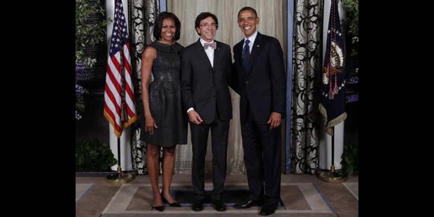 Di Rupo premier dirigeant étranger à féliciter Obama - La DH