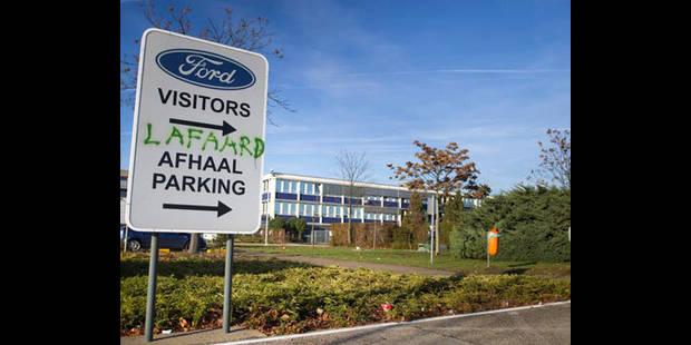 Quand la Sabam menace les syndicats de Ford Genk