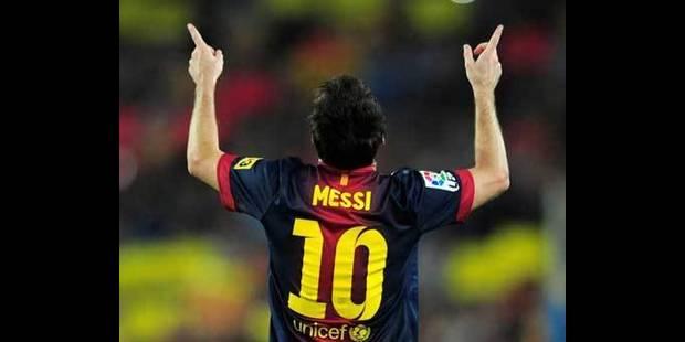 Messi va recevoir le Soulier d'or européen - La DH