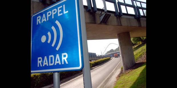 Homologation du premier radar tronçon en Wallonie - La DH