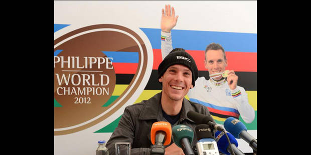 """Philippe Gilbert: """"J'ai déjà envie de reprendre"""""""