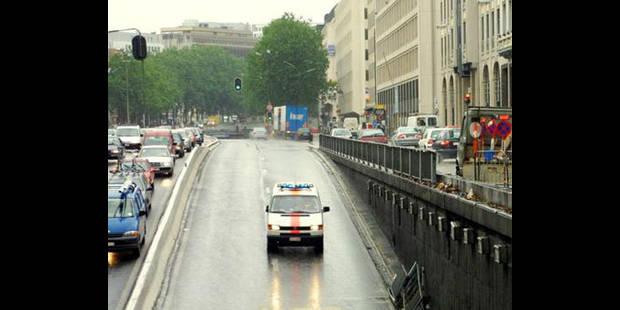 Le tunnel Madou à Bruxelles fermé - La DH