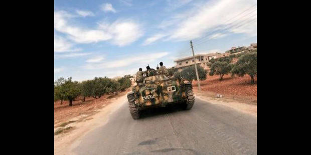 Premier salaire pour les rebelles syriens - La DH