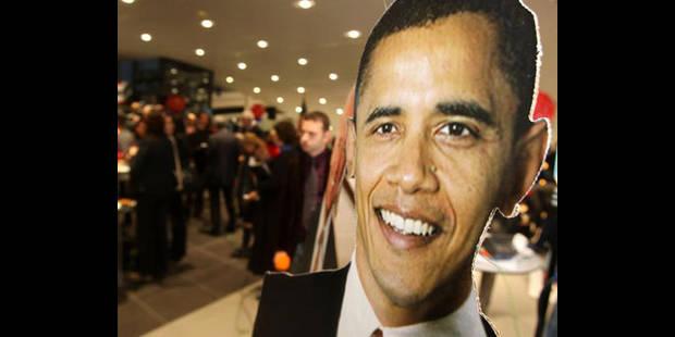 Les Européens continuent de plébisciter Obama - La DH