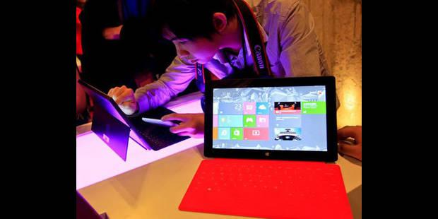 Windows 8 disponible en Belgique ce vendredi