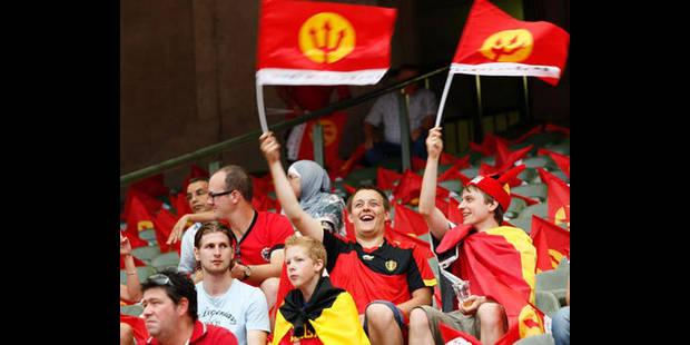 Une première pendant le match de qualification Belgique-Ecosse
