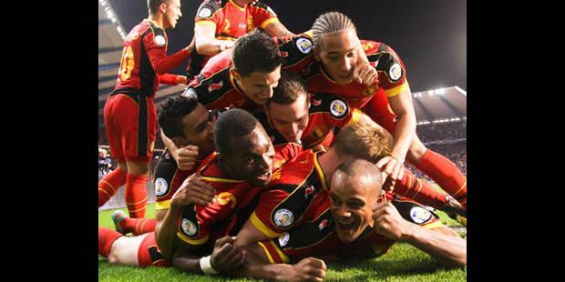 La Belgique confirme face à l'Ecosse (2-0) - La DH
