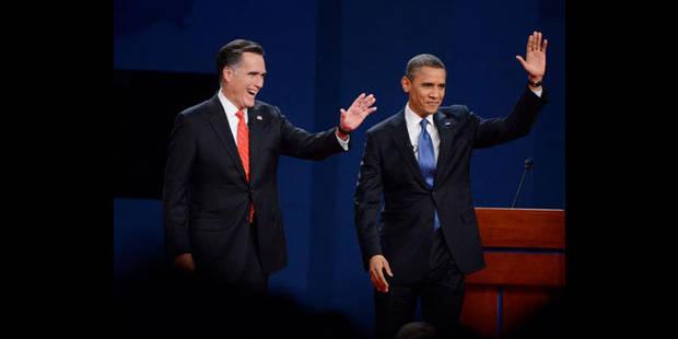 Ca reste serré entre Obama et Romney - La DH