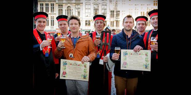 Jamie Oliver s'attaque aux bières belges !