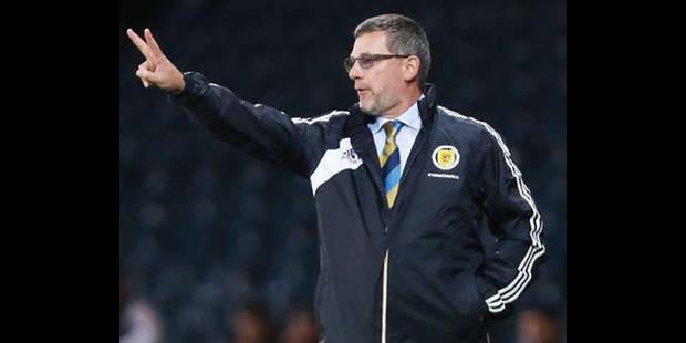 La sélection écossaise face à la Belgique - La DH