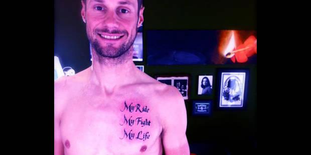 Le tatouage de Tom Boonen - La DH