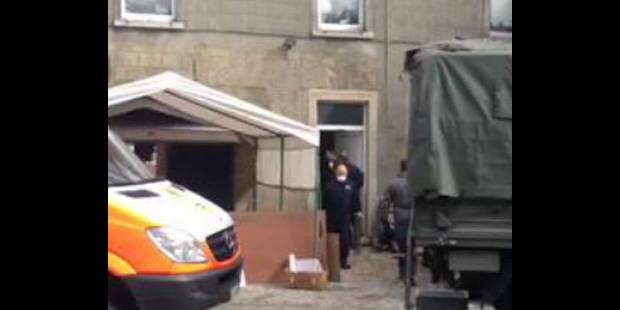 Des armes et un obus découverts au domicile d'un habitant de Marcinelle - La DH