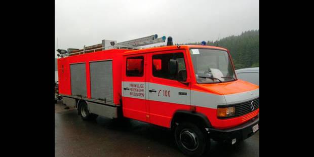 Incendie maitrisé à Herstal - La DH