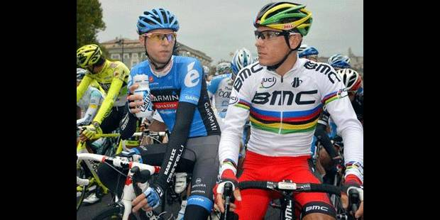 Abandon de Philippe Gilbert au Tour de Lombardie