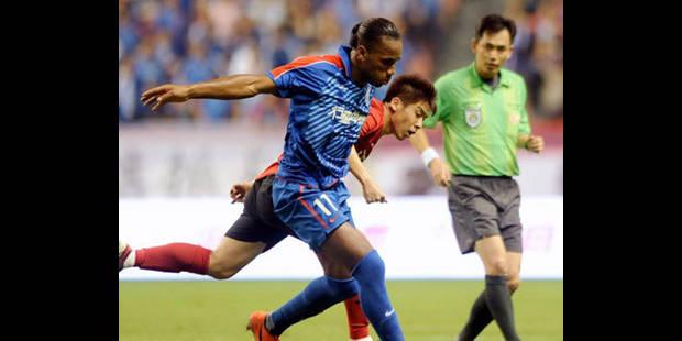 Drogba espère rester à Shanghai - La DH