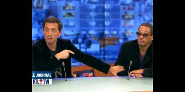 Quand Joey Starr perturbe le JT de RTL