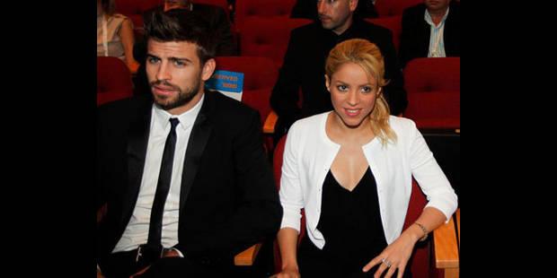 Shakira enceinte de Gerard Picqué