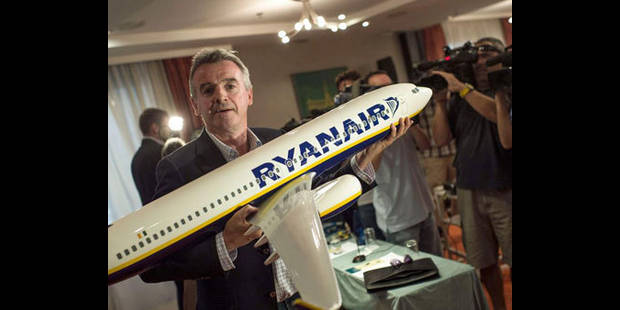 Ryanair opérera depuis Charleroi jusqu'en 2022 au moins - La DH