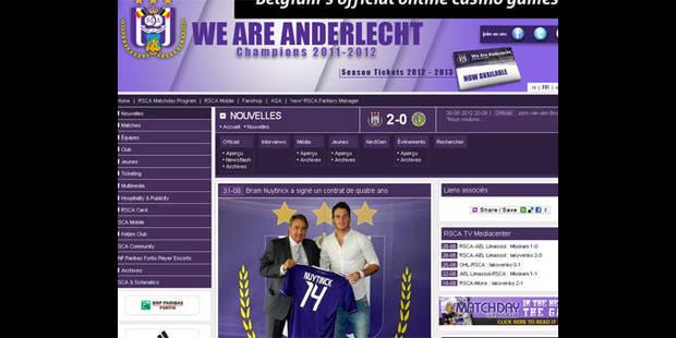 Bram Nuytinck, un défenseur central néerlandais, va signer à Anderlecht - La DH