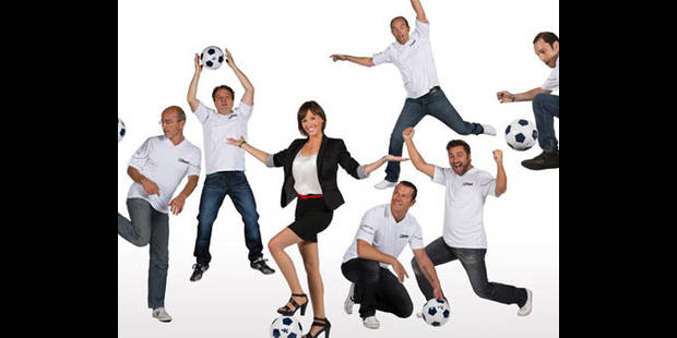 RTL a son équipe foot - La DH