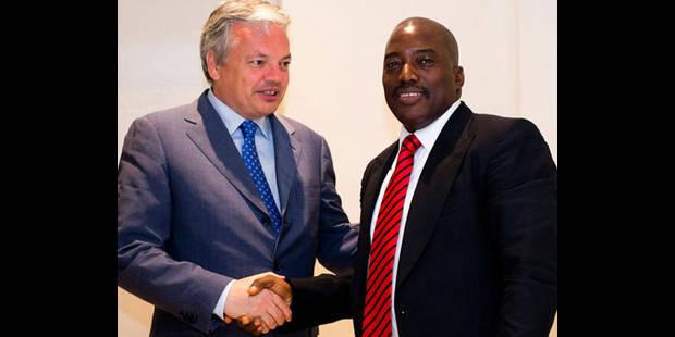 La rencontre Kabila-Reynders déplacée à Lubumbashi - La DH