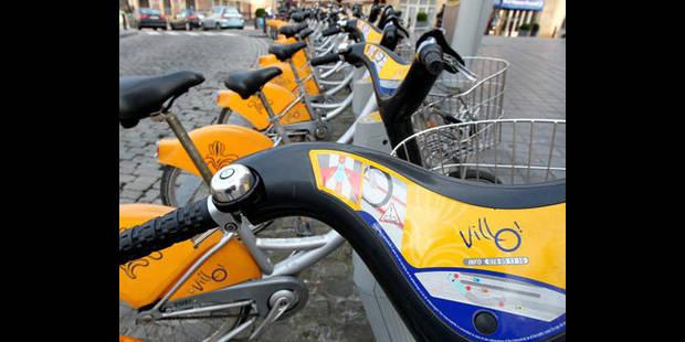 Un quart des vélos de location Villo! ont été volés en 2011 - La DH