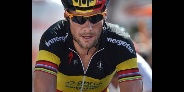 Tom Boonen au départ de la Vattenfall Cyclassics dimanche à Hambourg - La DH