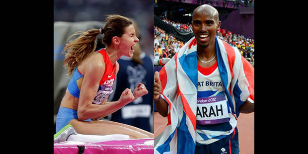 Tous les résultats des JO: Farah roi du 5000m, Chicherova reine de la hauteur - La DH
