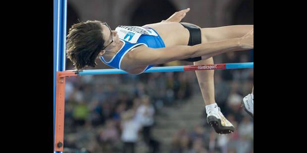 Tia Hellebaut 4e au meeting d'Eberstadt avec un saut à 1m97 - La DH