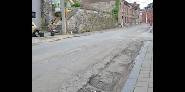 Les voiries de Saint-Servais et  Belgrade dégradées ? - La DH