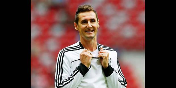 Miroslav Klose veut être de la partie au Brésil - La DH