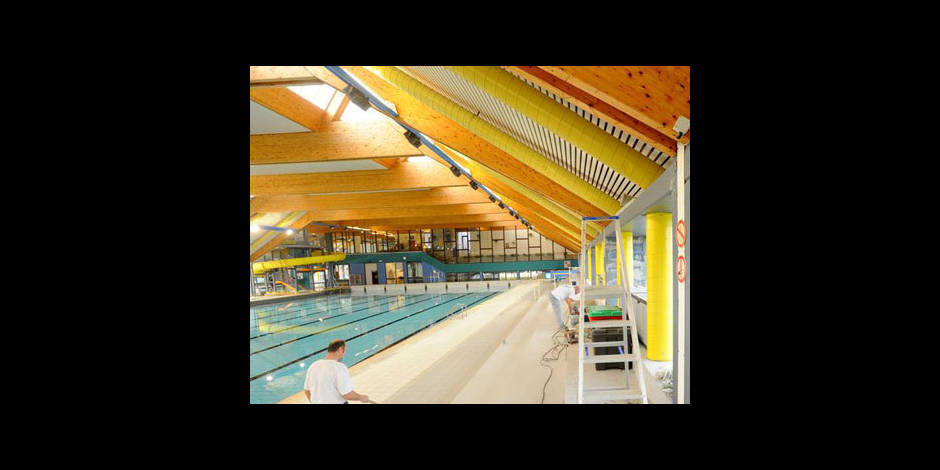 Incidents la piscine de mouscron la dh for Piscine dauphin mouscron