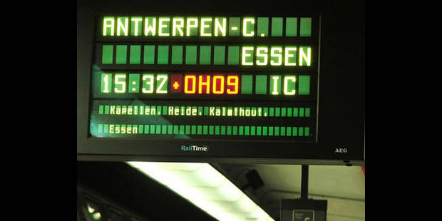 La circulation des trains risque d'être perturbée dans l'après-midi - La DH