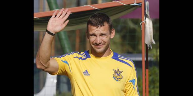 Andreï Shevchenko arrête le football pour faire de la politique - La DH
