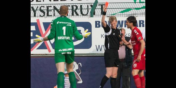 Pas de suspension pour Kristof Van Hout - La DH