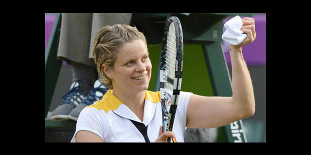 Clijsters rejoint Ivanovic en 1/8,  Wickmayer défaite par Wozniacki - La DH