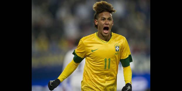 Premier gros test pour Neymar aux JO - La DH