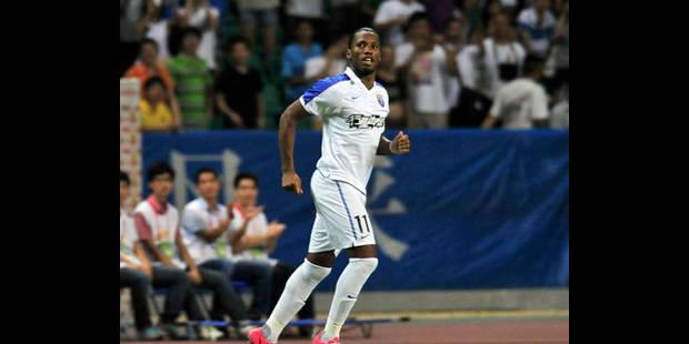 Drogba se distingue dès son 1er match avec le Shanghai Shenhua - La DH