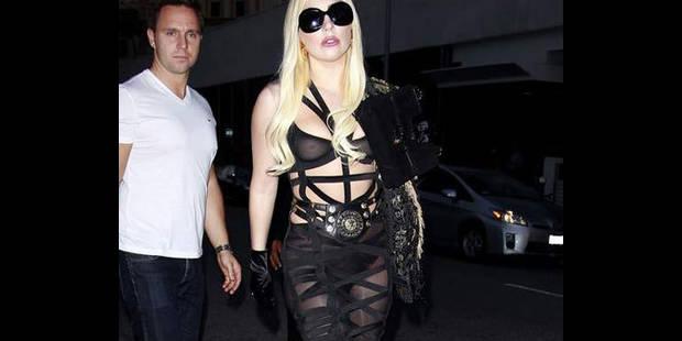 La dernière robe sexy de Lady Gaga