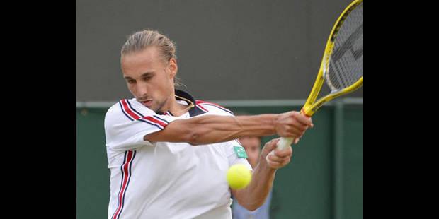 Ruben Bemelmans s'incline au 1er tour du tournoi ATP de Newport - La DH