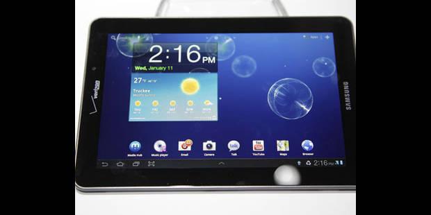 Samsung ne peut pas commercialiser sa dernière tablette aux Etats-Unis - La DH