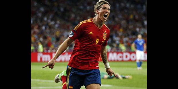 Torres Soulier d'or, Iniesta meilleur joueur de l'Euro-2012 - La DH