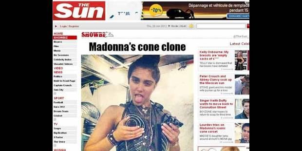 Madonna : Telle mère, telle fille - La DH