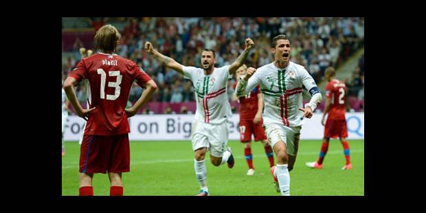 Cristiano Ronaldo envoie le Portugal en demi - La DH