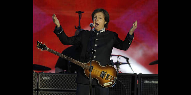 """Paul McCartney a �crit """"Yesterday"""" aux toilettes - DH.be"""