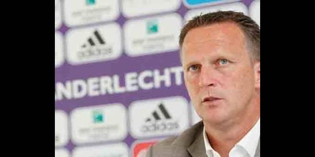 Van den Brom 3 ans à Anderlecht - La DH